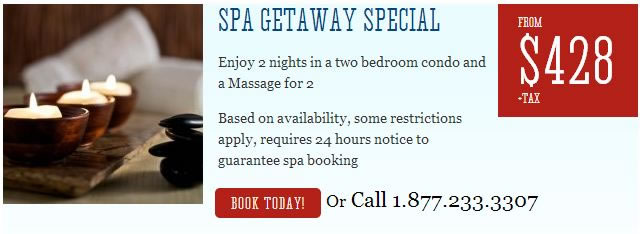 Kimberley Spa Getaway Package